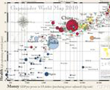 A chart entitled GapMinder World Map